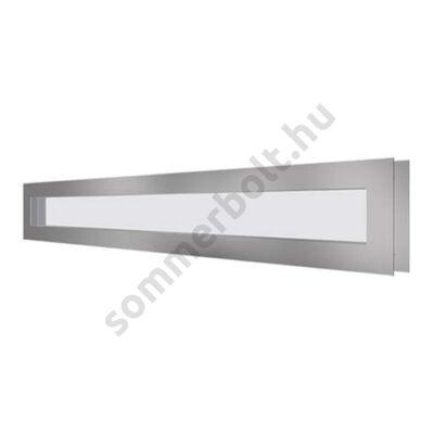 DOCO ablak rozsdamentes kerettel - 98x14cm