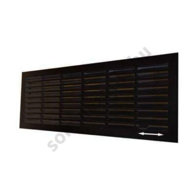 DOCO szellőzőrács - zárható, fekete