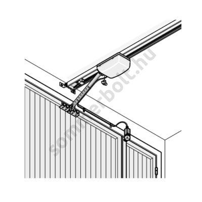 Sommer reteszelő kapcsoló személybejáró ajtóhoz