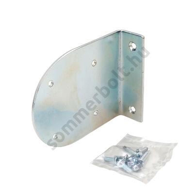 Tartó konzol reflexiós fénysorompó prizma esővédőjéhez - galvanizált