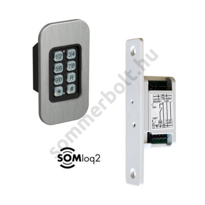 Sommer ENTRAcode+ kódkapcsoló bejárati ajtóhoz