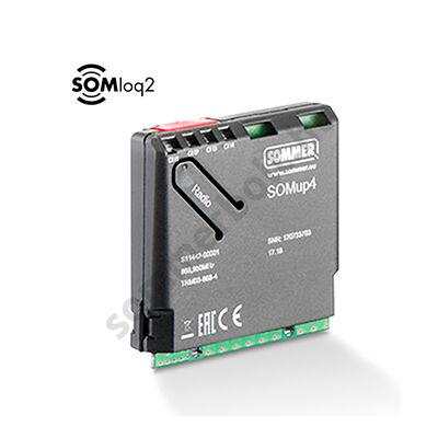 Sommer SOMup4 betűzhető 4 csatornás rádióvevő - SOMloq2